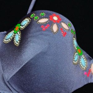 Victoria's Secret Swim - VICTORIA'S SECRET Swim Bikini Bandeau Top 34D NEW